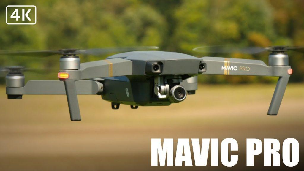 DJI Drone Mavic Pro_drone in volo