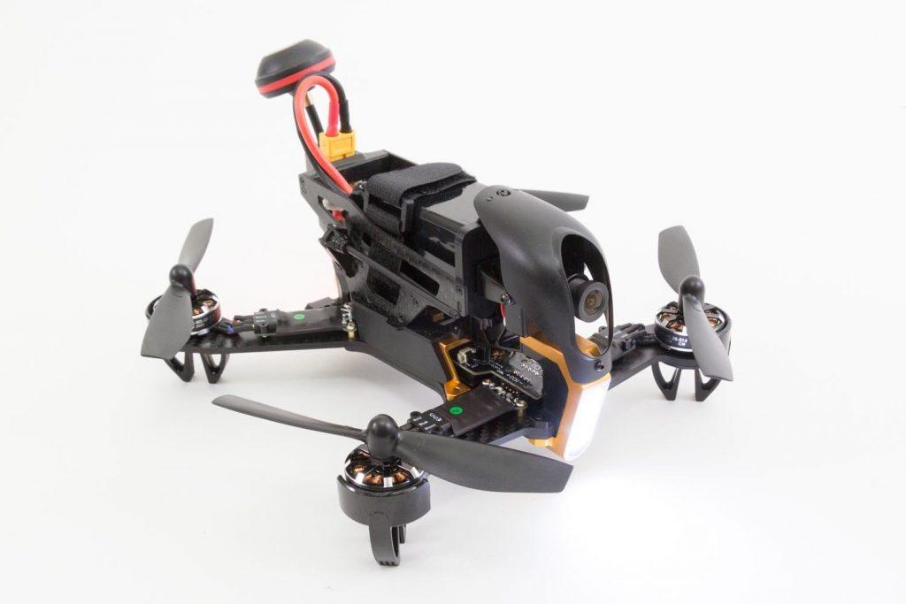 WALKERA F210 FPV_vista profilo