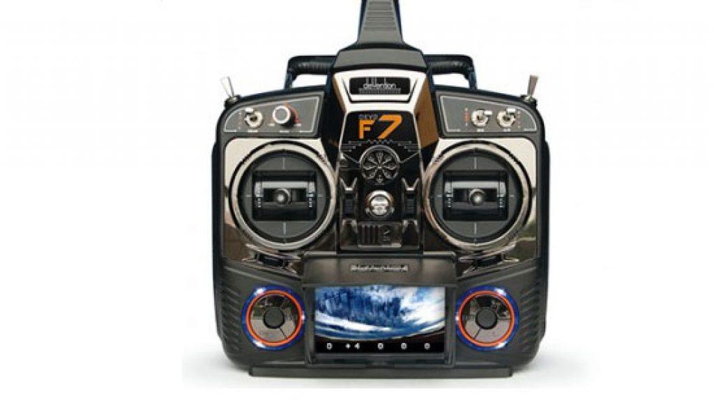 WALKERA F210 FPV_visuale del radiocomando