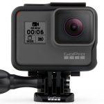 GoPro Hero 6 foto della cam frontale sul supporto