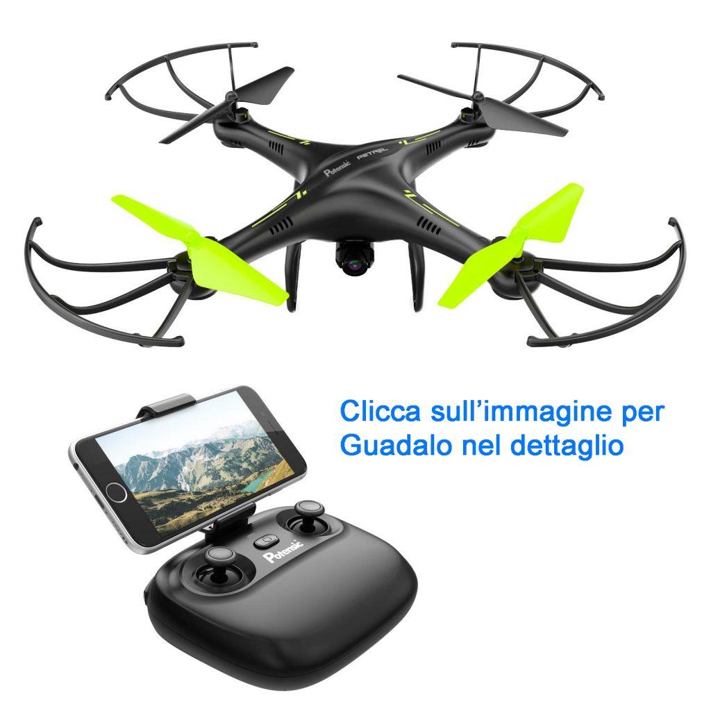 Potensic U42W drone con telecomando