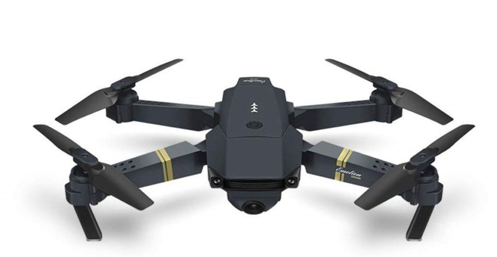 drone vista frontale
